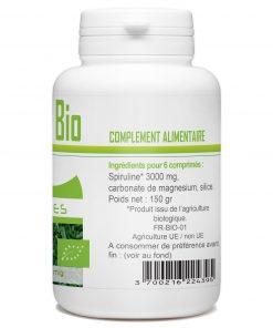 spiruline bio 300 comprimé pack de 5