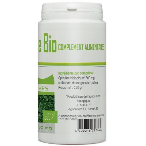 acheter spiruline bio 500 comprimé