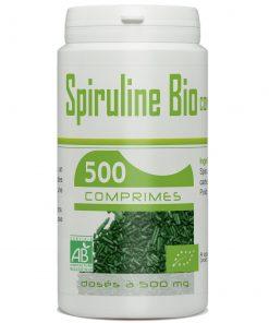 Spiruline bio 500 gelules