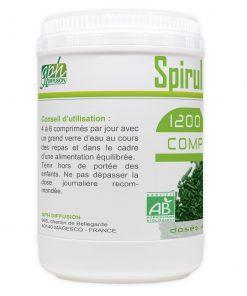 Algue Spiruline pas cher 1200 comprimés pas cher